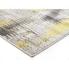 Yellow Round Area Rugs Hannah Matrix Rug Yellow Grey Floor Rugs Free Shipping Australia