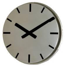 modern wall clock umbra ribbon clock 30cm modern wall clock