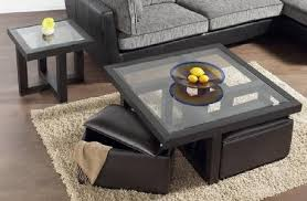 Glasses Coffee Table Coffee Table With Storage Stools Rustic Rectangle Coffee Table