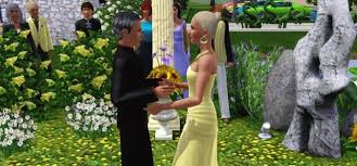 wedding in the the sims 3 marriage weddings and