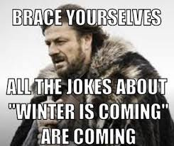 Meme Creator Winter Is Coming - fall in love now96 3