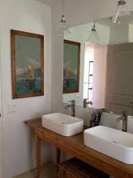 bathrooms design beach style bathroom vanity farmhouse pottery