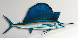 Fish Home Decor Amazon Com Sailfish 14 Inch Acrylic Fish Mount Home U0026 Kitchen