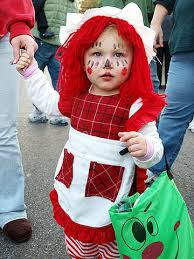Raggedy Ann Costume Super Cute Halloween Costumes