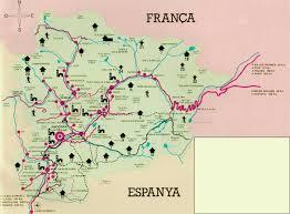 Pyrenees Mountains Map Map Of Andorra Joao Leitao Travel