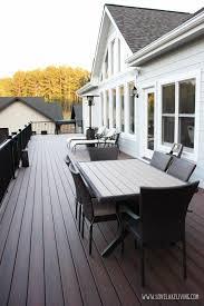 deck furniture layout love lake living may 2016