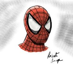 spiderman drawings pencil color drawing art gallery