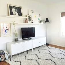 Living Room Wall Shelving by Best 25 Tv Wall Shelves Ideas On Pinterest Floating Tv Stand