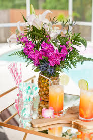how to make a tropical pineapple floral arrangement fresh mommy
