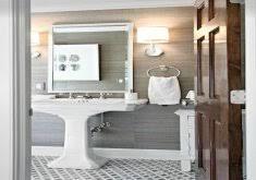 grasscloth wallpaper in bathroom home inspiration ideas