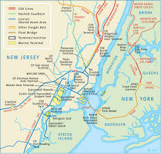 New York Borough Map by Route Map New York New Jersey Rail Llc