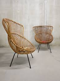 Montauk Nest Chair For Sale by Zeldzame Rohe Vintage Rotan Lounge Chairs Franco Albini Style Www