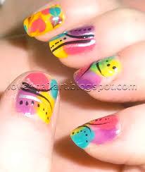 bright color nail designs nail designs hair styles tattoos and