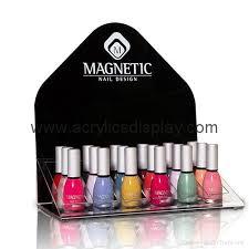plastic nail polish display china manufacturer cosmetic makeup