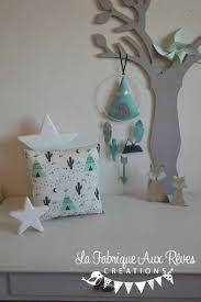 deco chambre bebe garcon gris décoration chambre bébé garçon tipi flèche arrow plume cactus mint