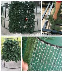 7ft giant pvc decoratived artifical christmas tree metal stand