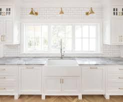 farmhouse sink with backsplash modern farmhouse kitchen subway tile modern farmhouse kitchen with