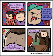 Meme Power - the power of friendship meme guy