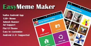 Meme Maker Android App - easy meme maker app by jhai codecanyon