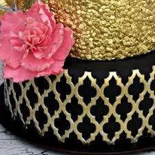 moroccan lattice silicone on lay by modecor italia