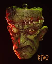 frankenstein ornament by tom taggart my type of