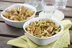 cuisiner poireaux poulet aux pommes et fondue de poireaux maggi