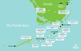 Homestead Fl Map Key Largo Attractions Hilton Key Largo Resort Activities