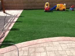 Patio Artificial Grass Grass Carpet Pine Valley California Paver Patio Backyard Landscaping