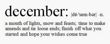 happy new month inspirational quotes for december