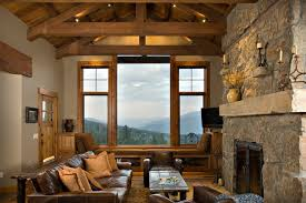 Tuscan Farm Rustic Family Room Other By Centre Sky - Tuscan family room