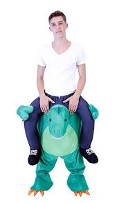 amazon com piggyback ride on riding shoulder costume clothing