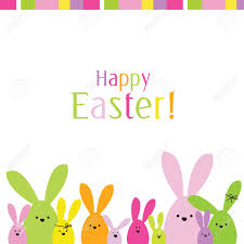 easter card with copy space royalty free cliparts vectors and