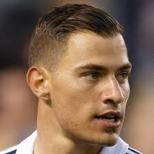 cool soccer hair james troisi keeping it short and slick hairstyles pinterest