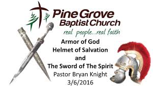 armor of god helmet of salvation and the sword of the spirit youtube