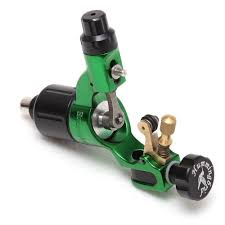 hummingbird rotary tattoo machine v2 in green tattoo supplies