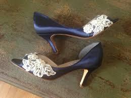 wedding shoes sale sale wedding shoes peep toe marine blue low heel heel