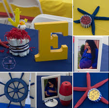 interior design cool baby shower nautical theme decorations