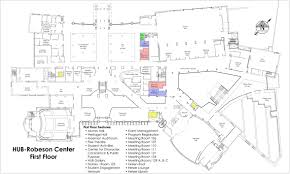 Student Center Floor Plan by Union And Student Activities Facility Maps