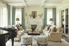 living room with hanging lighting and cream sofa decorate your