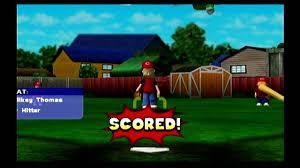 backyard baseball gcn game squad part 1 youtube