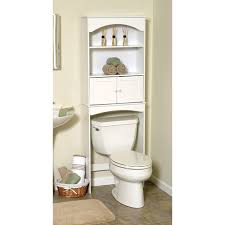 white wood spacesaver with cabinet and open storage walmart
