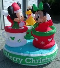 7 foot mickey mouse disney santa claus gift