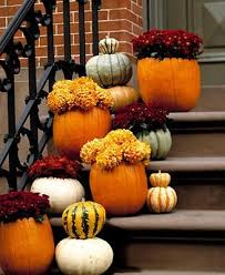 fall outdoor decorations fall outdoor decor pupmkin planters decorations home design 21