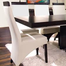 Genuine Leather Dining Room Chairs by Sharelle Furnishings Verona Genuine Leather Upholstered Dining