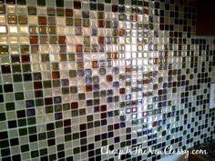 Stick And Peel Backsplash Tiles by Simplyput No Grout Self Adhering Tile System Youtube