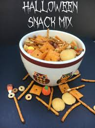 Vegetarian Halloween Appetizers by Halloween Snack Mix Recipe The Perfect Sweet And Salty Treat