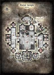 halloween horror nights map curse of strahd map of amber temple lower level maps and