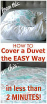 What Size Is A Single Duvet How To Cover A Duvet The Easy Way The Two Minute Duvet Cover