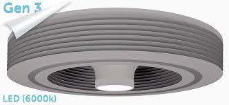 Exhale Ceiling Fans Exhale Fan G3 Light Gray Buy An Exhale Bladeless Ceiling Fan