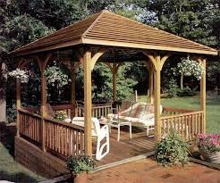 Backyard Gazebos For Sale by 22 Free Diy Gazebo Plans U0026 Ideas To Build With Step By Step Tutorials